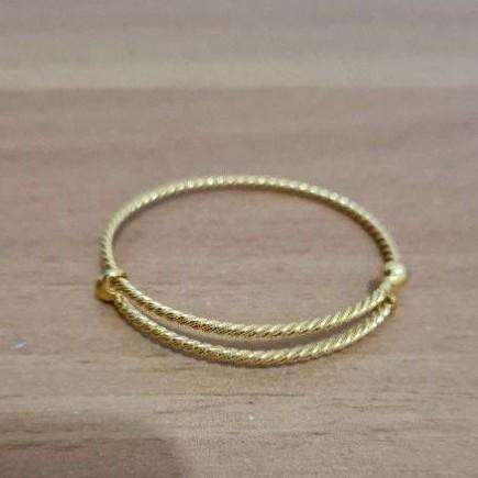 gelang lilit 5 gram emas muda