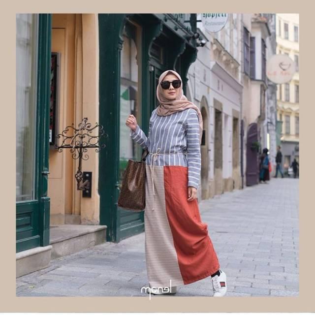 Cinnamon Dress Monel Shopee Indonesia