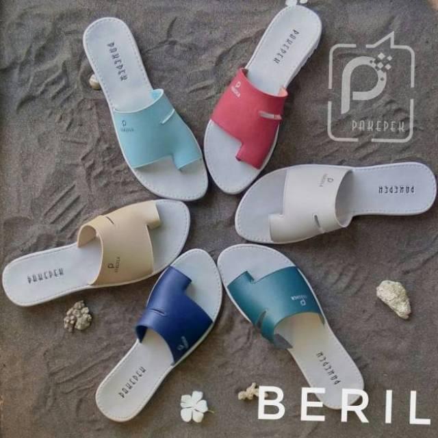 Sandal Wanita Pakepek Beril Shopee Indonesia