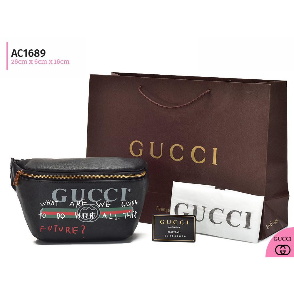 Tas Pinggang Gucci GG Marmont Matelasse CREAM APRICOT Semi Premium AM923  df55553213