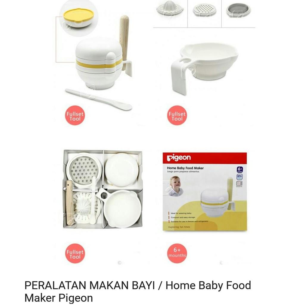 Kiddy Baby Multifunctional Food Maker Set Perlengkapan Alat Pembuat Tempat Makan Bayi Pigeon Blender Makanan Peralatan Shopee Indonesia