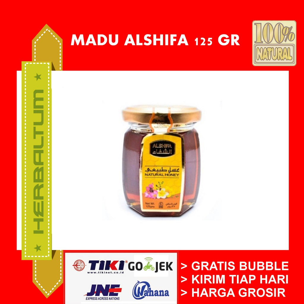 Madu Asli Arab 125 Ml Natural Honey Shopee Indonesia Al Shifa 500gr Original