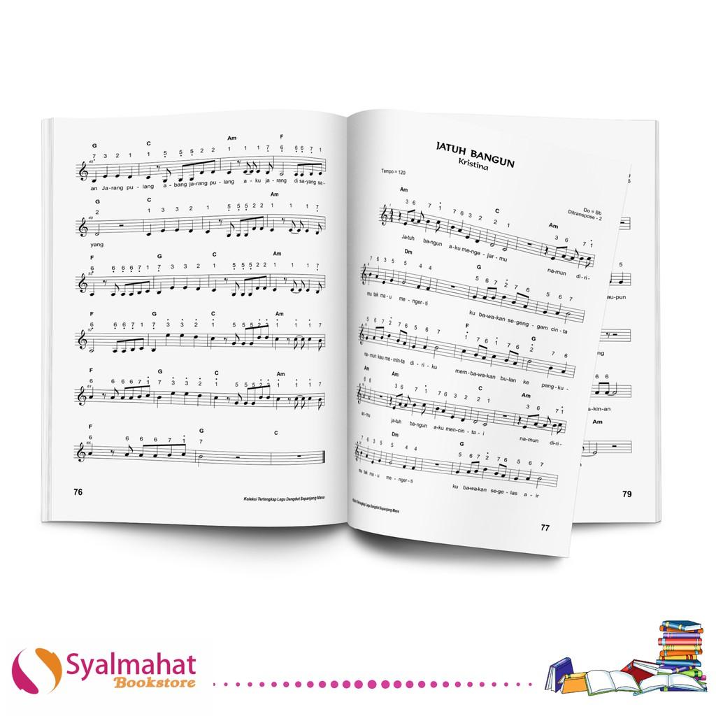 Buku Musik Koleksi Terlengkap Lagu Dangdut Sepanjang Masa Untuk Gitar Keyboard Dan Piano Shopee Indonesia