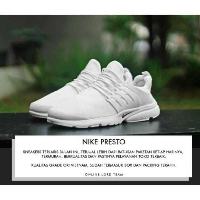 GB  Sepatu Nike Presto Woman Grade Ori Vietnam Sepatu Olahraga wanita  Sepatu Lari Cewek Murah  80cae38bc6