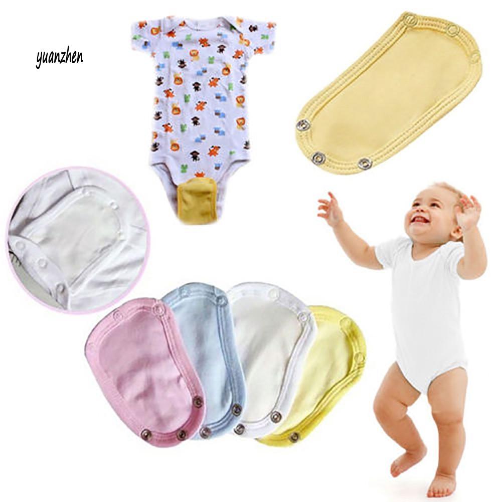Baby Newborn Lengthen Film Infant Diaper Outfits Bodysuit Extend Soft Utility