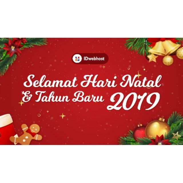 Ucapan Selamat Hari Natal 2019 Tahun Baru 2020
