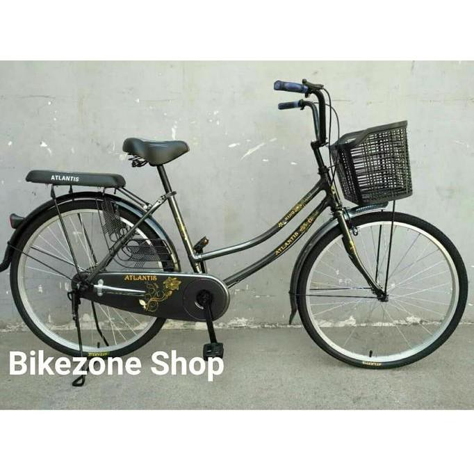 Harga Termasuk Ongkos Kirim Sepeda Mini Dewasa City Bike 24 Inch Atlantis Khusus Gosend Bandung Shopee Indonesia