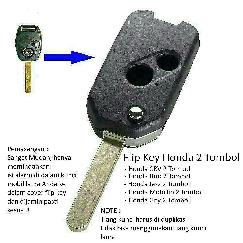 Kondom Kunci Mobil Honda Jazz Rs Mobilio Brio Hrv Brv Freed Civic Silicon Remote Psd Accord 2 Tombol Shopee Indonesia