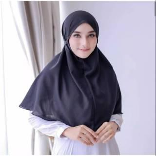 Maryam Bergo Hijab Syari Salwa Instan Tali Non Pad Antem Khimar Instant Mina Aisyah Syria Shopee Indonesia