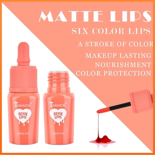 Teayason Lip Gloss Warna Abadi Lip Tint Korea Anti Air Tahan Lama 6 Colors thumbnail