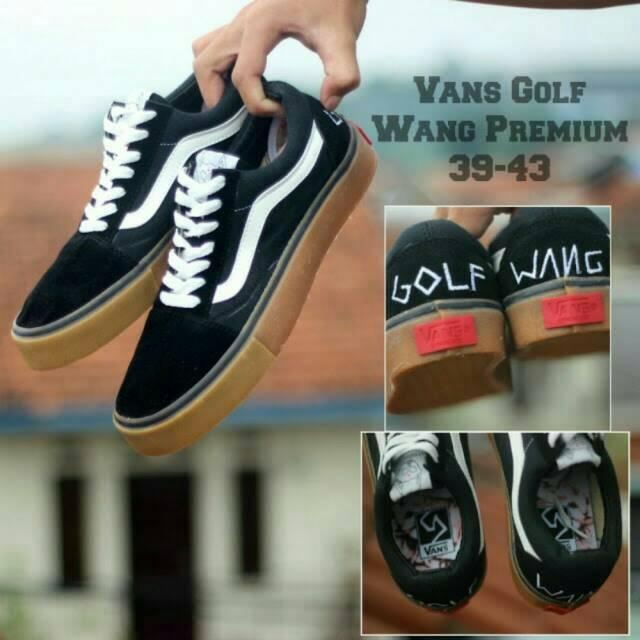 37cb6913e2 sepatu vans old skool golf wang black cp