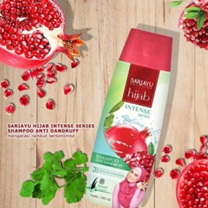 Sariayu Shampoo Hijab 180ml Sari Ayu Shopee Indonesia