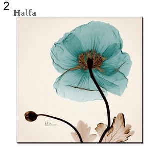 hl lukisan kanvas print bunga untuk dekorasi dinding kamar