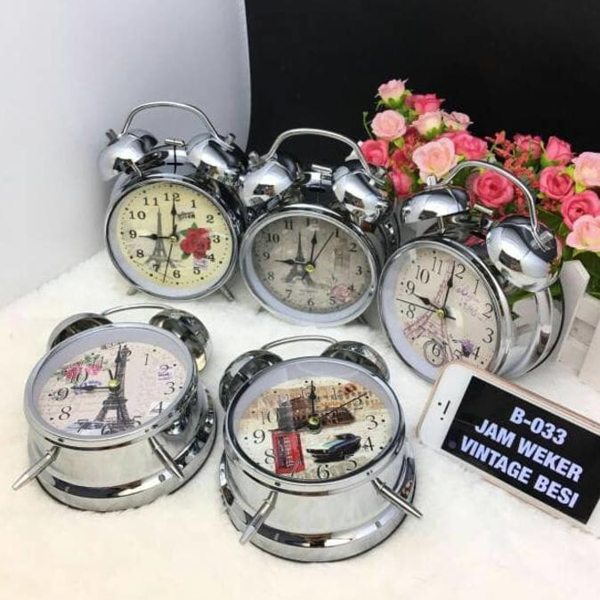 Top Ikea Dekad Jam Weker Beker Meja, Alarm, Hitam Bergaransi | Shopee Indonesia
