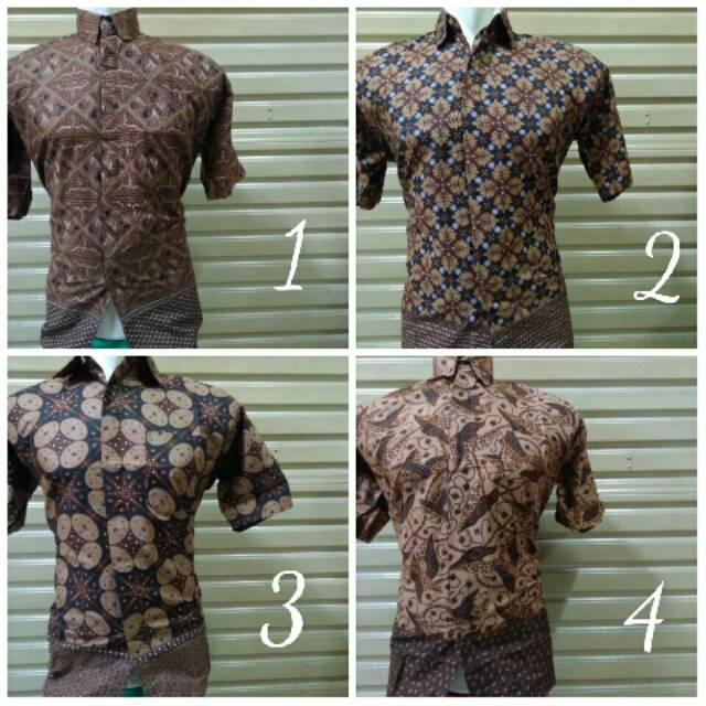 Kemeja Baju Batik Pria Katun Seragam Kerja Kantor Ika Fashion Tanah Abang  Murah  5bf994ee8b