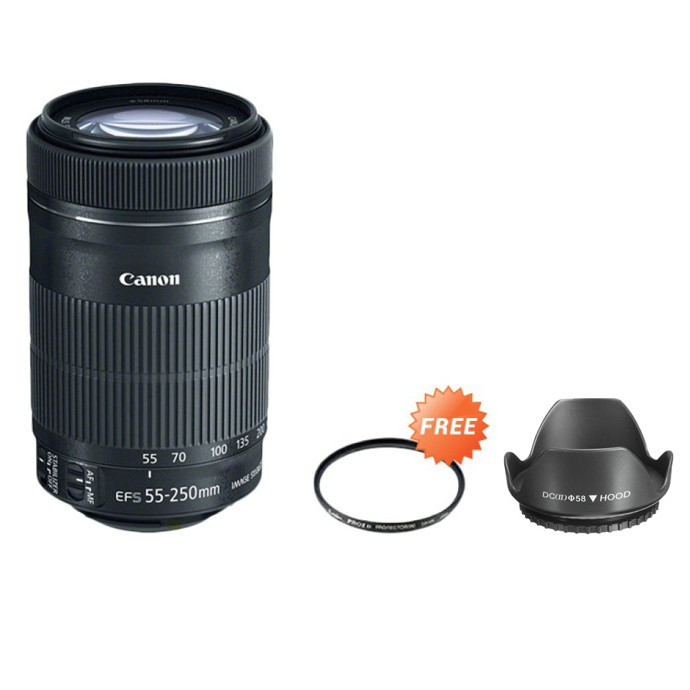 Lensa Canon Ef 50mm F 18 Stm Free Uv Filter Shopee Indonesia 55 250mm Is