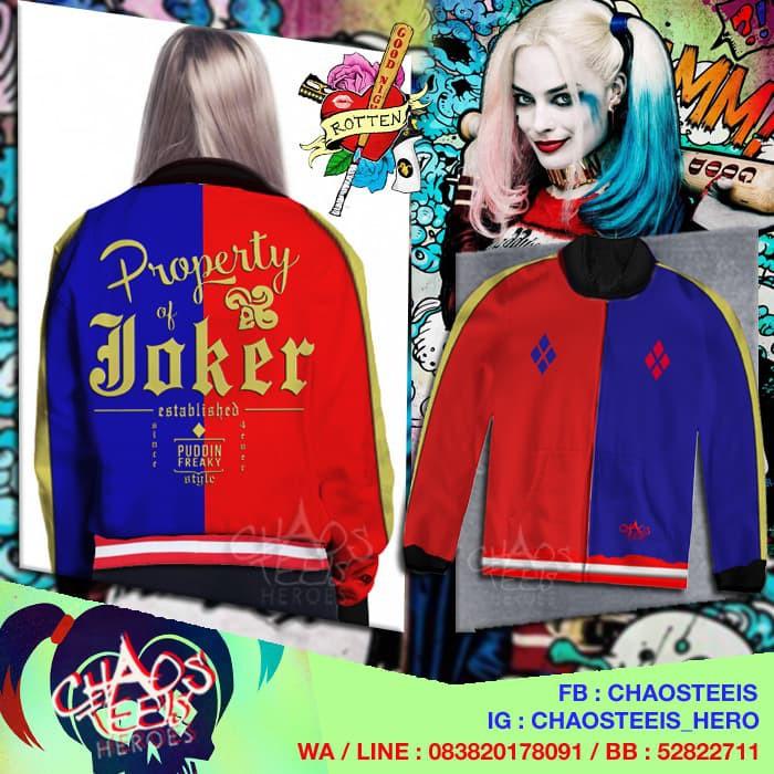Jaket Harley Quinn murah  ef35a9ee02
