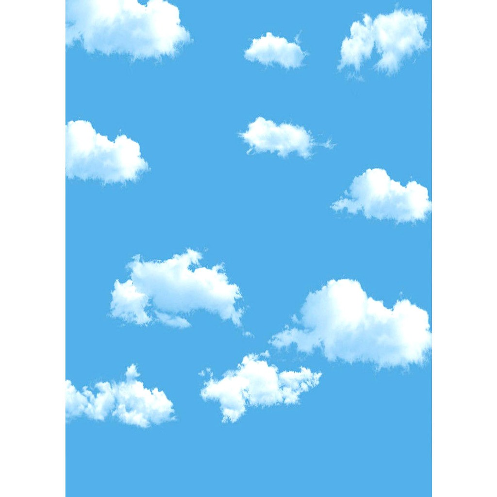 Bayar Di Tempat Backdrop Background Motif Langit Biru Awan Ukuran 5x7ft Untuk Studio Foto Eb Shopee Indonesia