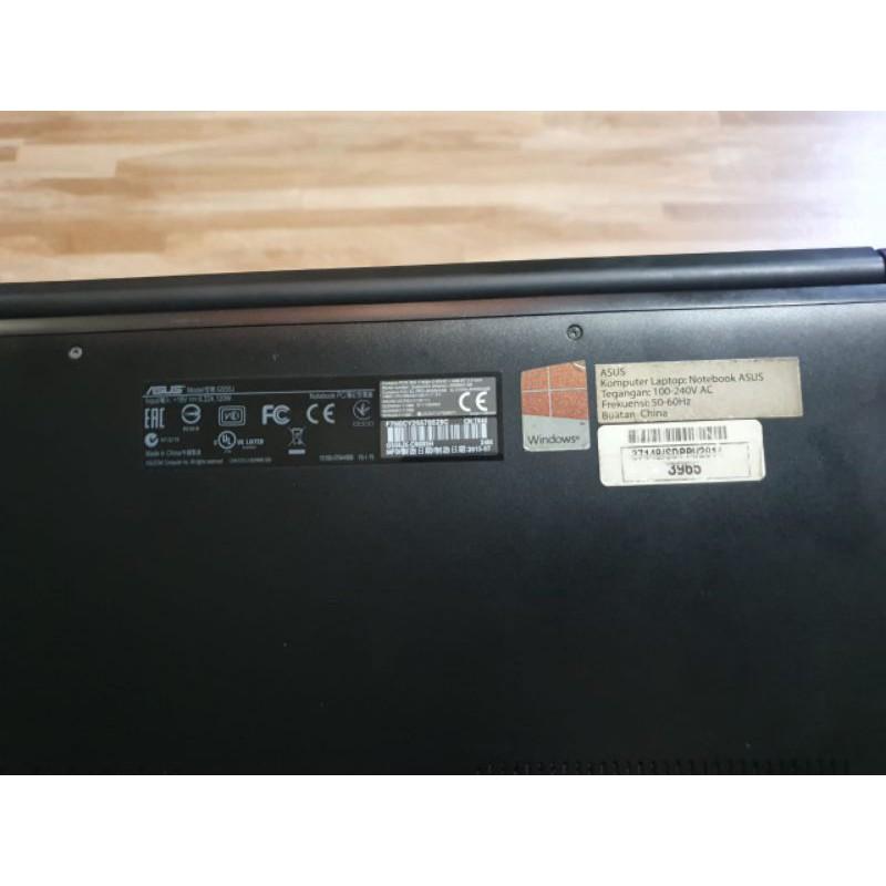 LAPTOP ASUS ROG CORE I7 RAM 12 GB