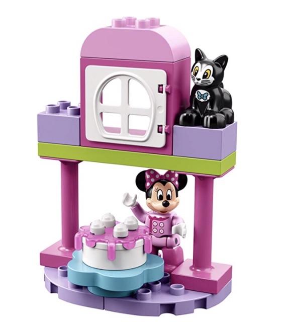 21 Piece Toy For Kids LEGO DUPLO Disney Minnie/'s Birthday Party Building Kit