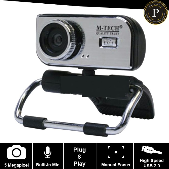 BEL-16MP Webcam Web Cam Camera with MIC for Computer PC Laptop | Shopee Indonesia