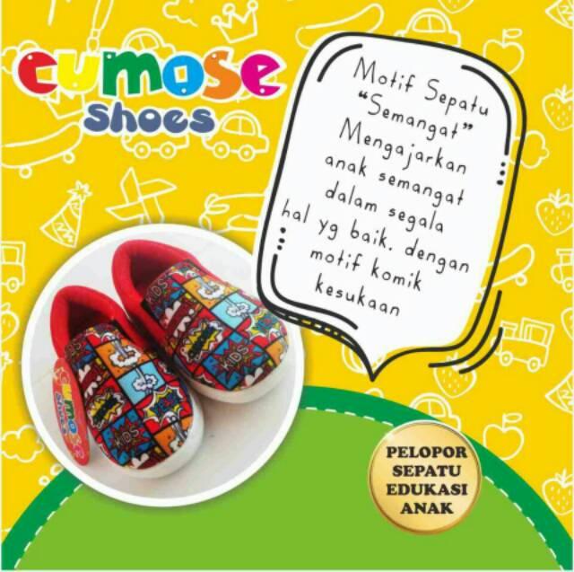 Sepatu edukasi anak cumose