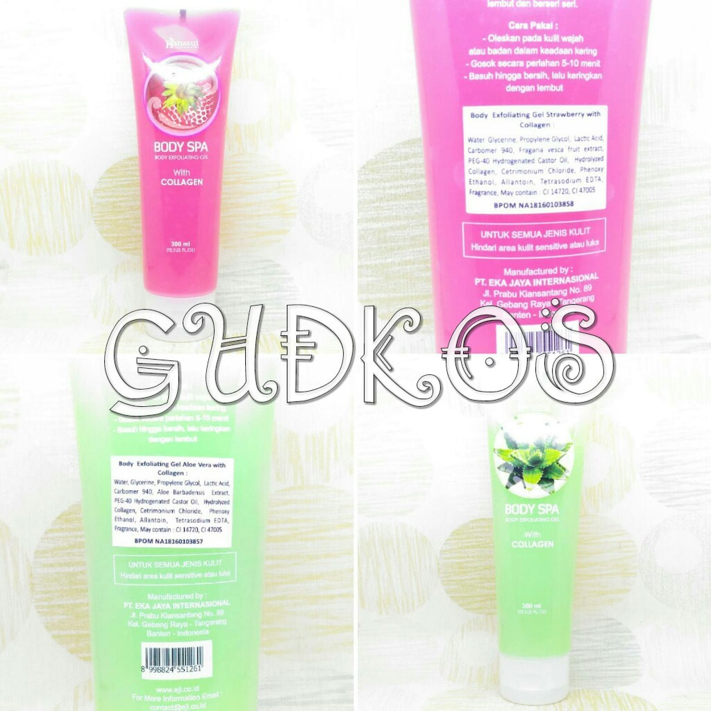SYB Body Spa Peeling gel/ .