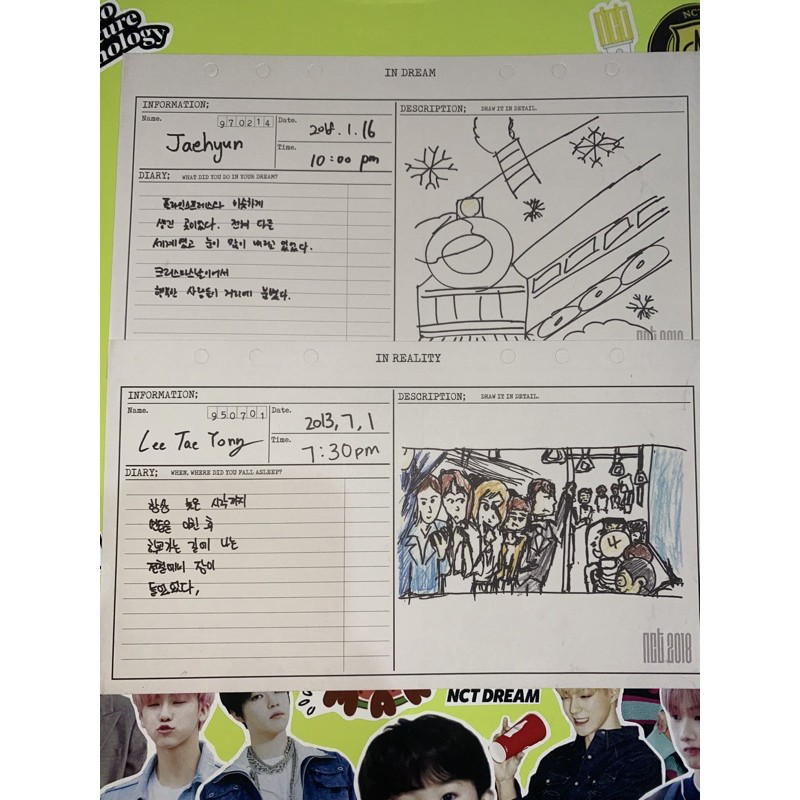jaehyun taeyong diary nct empathy