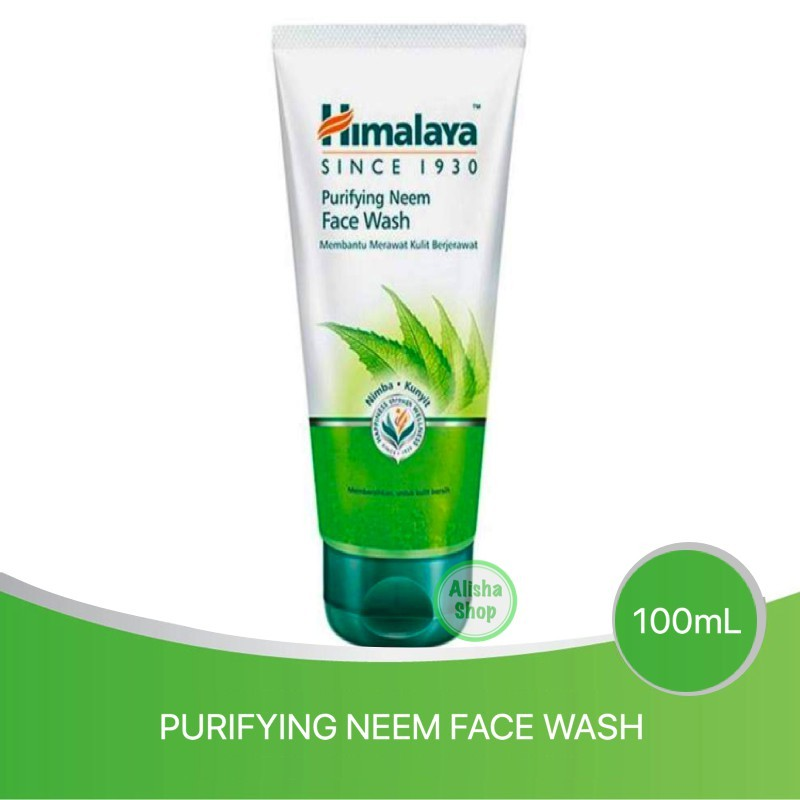 Himalaya Purifying Neem Face Wash 50ml 100ml 150ml Shopee Indonesia