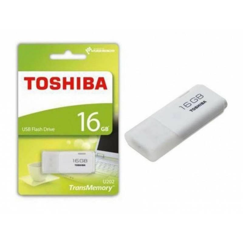 Flashdisk Hayabusa 16Gb Toshiba Flash Disk FD USB 2.0 - Putih | Shopee Indonesia