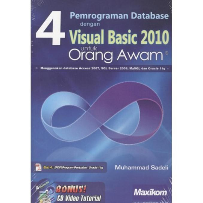 Pemrograman Desktop Database Python-MySQL Dengan BOA Constructor+cd | Shopee Indonesia
