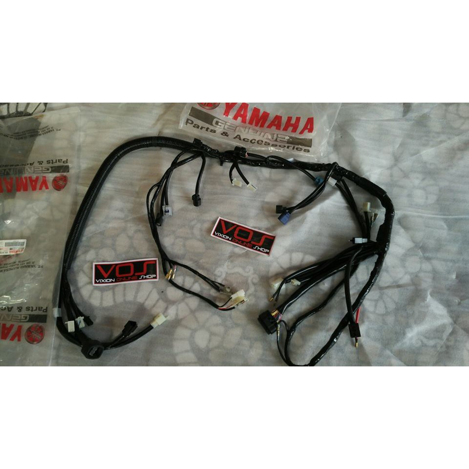 Kabel Body Yamaha Vixion 3c1 Asli T Shopee Indonesia Wiring Harness