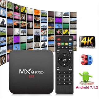 PREINSTALLED 10000+CHANNELS)MXQ PRO 4K ANDROID TVBOX TV