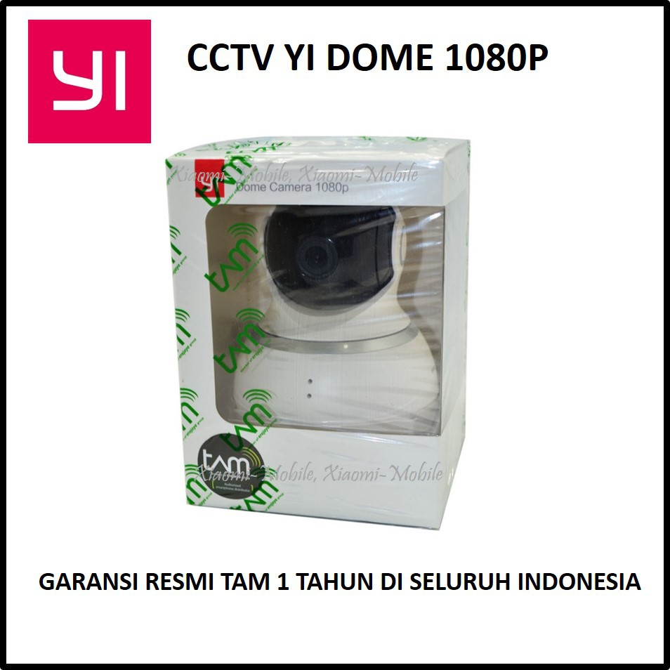 Xiaomi Xiao Yi Dome Hd Ip Camera Kamera Cctv Ir 360 Degrees Spc 2 Mp Indoor Full 1080p 4 In 1 Ahd Analog Hdtvi Hdcvi Edition Black Shopee Indonesia