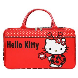 Tas Travel Bag Kanvas JUMBO Hello Kitty Kepik. suka: 15