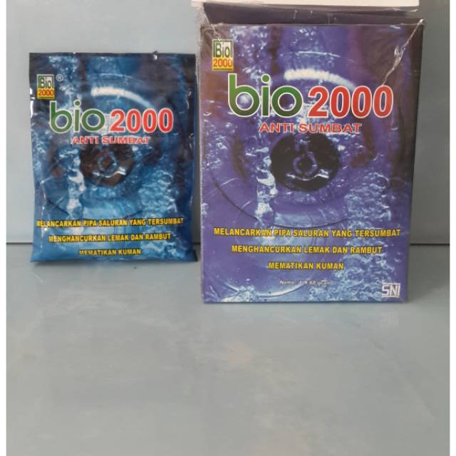 BIO 2000 ANTI SUMBAT SALURAN PIPA / ANTI SUMBAT SINK / ANTI SUMBAT WC / ANTI SUMBAT WASTAFEL