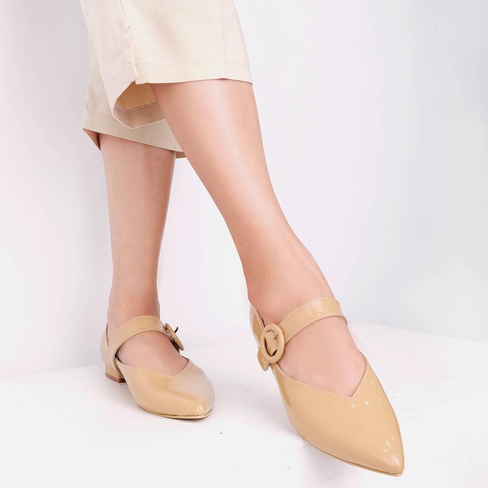 Amazara Evelyn Hazelnut Sneakers Shopee Indonesia White Putih 36