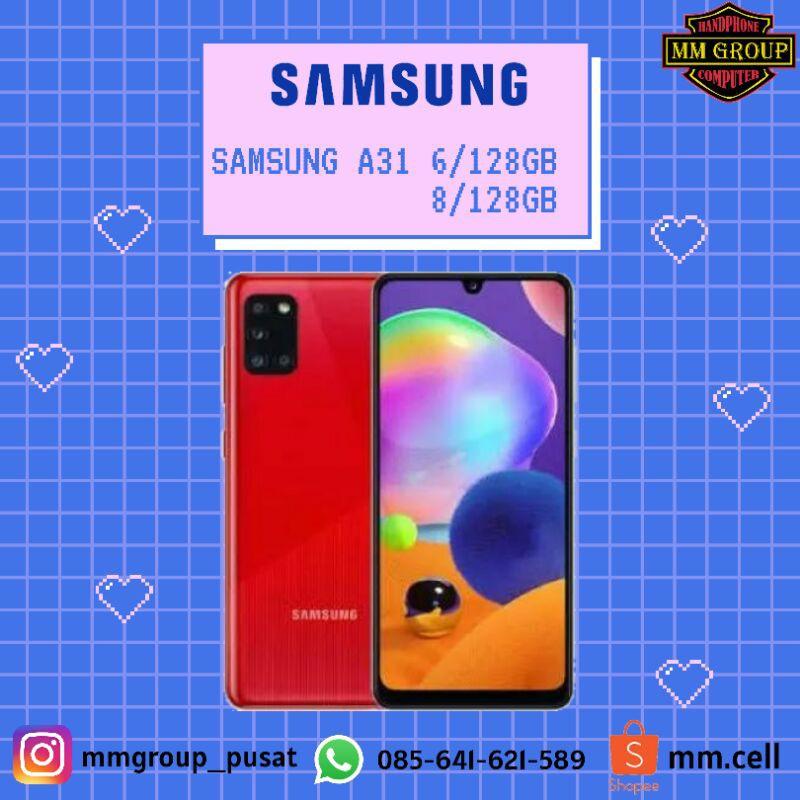 Promo Cuci Gudang Hp  SAMSUNG GALAXY A31 RAM 6/128GB DAN 8/128GB  Hp Murah