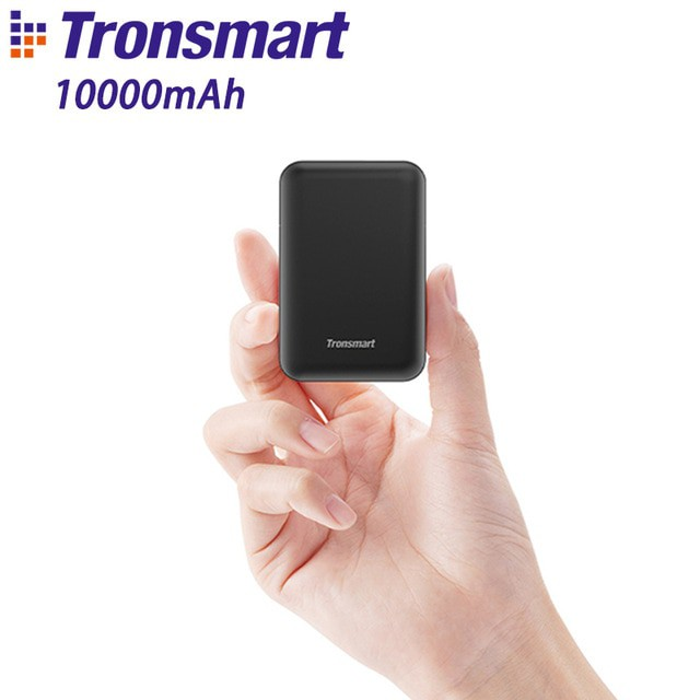 Tronsmart PB10 Mini Power Bank 10000mah Fast Charge with LED Display