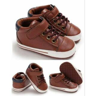 Sepatu Prewalker Baby Boy Sepatu Boot Bayi Cowok Prewalker Sepatu