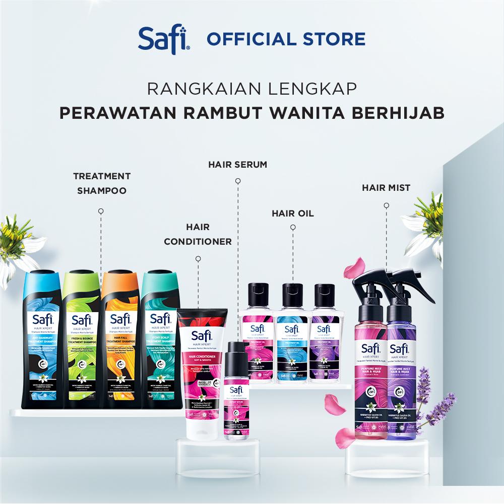 Safi Hair Xpert-Anti Dandruff Shampoo 160gr - Perawatan Rambut-4