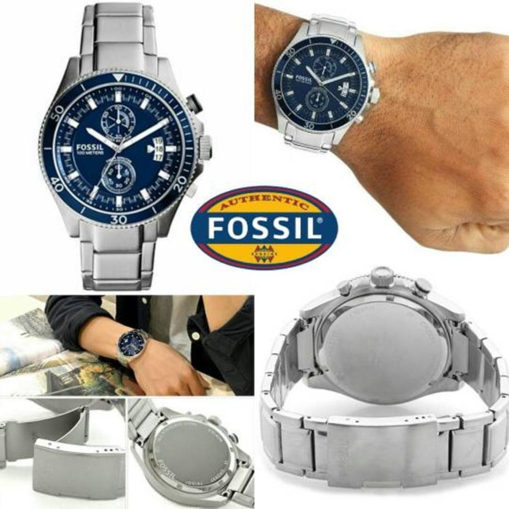 Fossil Fs4656 Jam Tangan Pria Original Garansi Resmi Shopee Gratis Ongkir Me3064 Townsman Automatic Brown Leather Strap Watch Indonesia