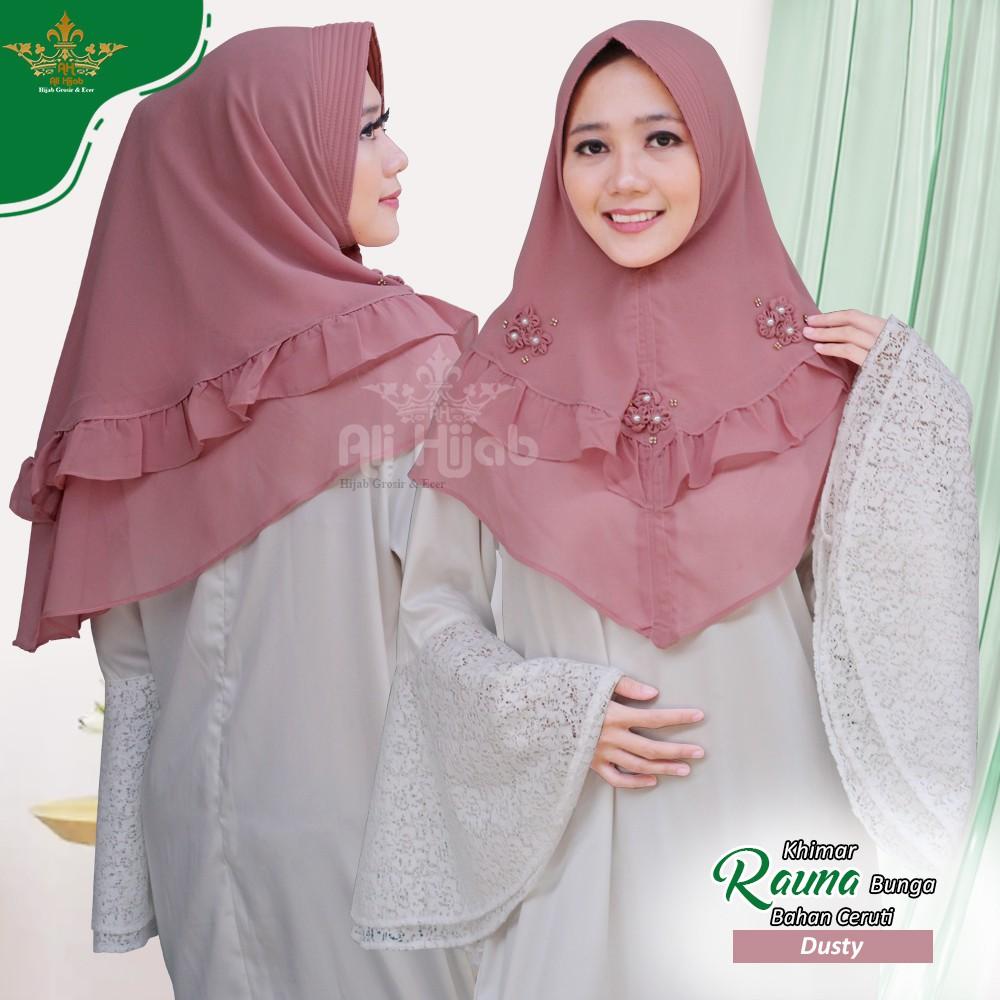 Jilbab Rauna Q2 Jilbab Instan Bergo Maryam Hijab Instan Terbaru Khimar Kekinian Hijab Instan Murah Shopee Indonesia