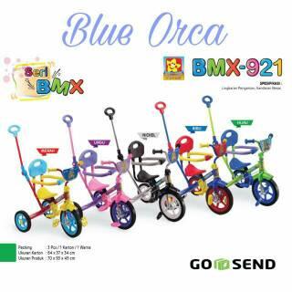 Bandung Gosend PMB 921 Safari BMX Tricycle with Safety Bar