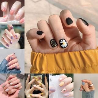 24PCS Cute Fake False Nails with Free Glue Manicure R061-R080 thumbnail