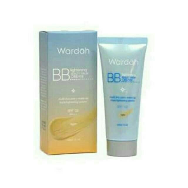 Wardah BB Lightening Beauty Balm Cream 15ml [kecil]