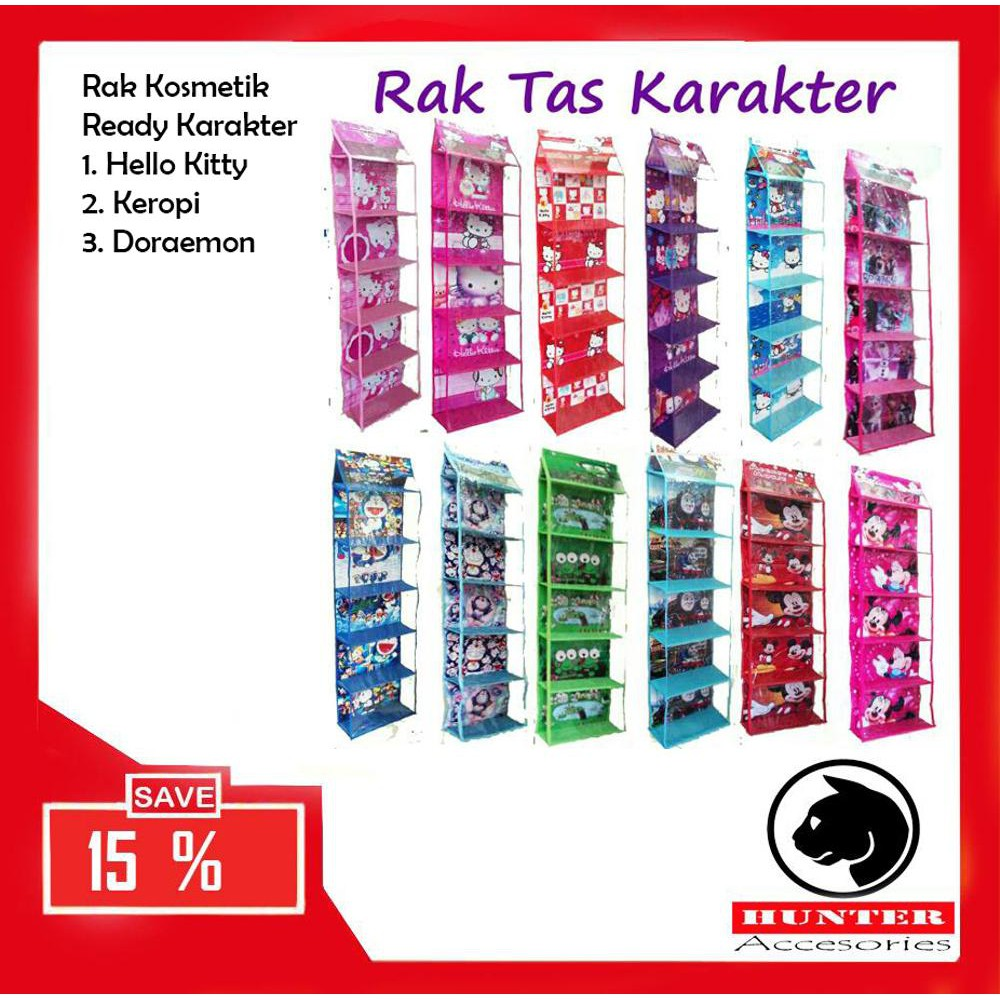 Promo Promo Termurah Rak Multifungsi Organizer Zipper Karakter Rak Gantung Multifungsi Limited | Shopee Indonesia