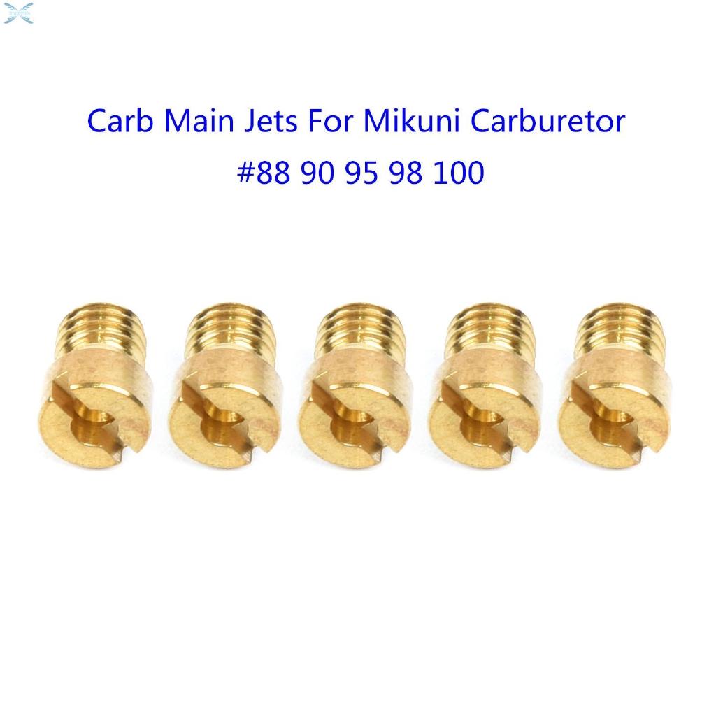 For Mikuni Main Jets Replaces Set Pack Kit 10pcs Carb For Mikuni VM22 VM24 VM26