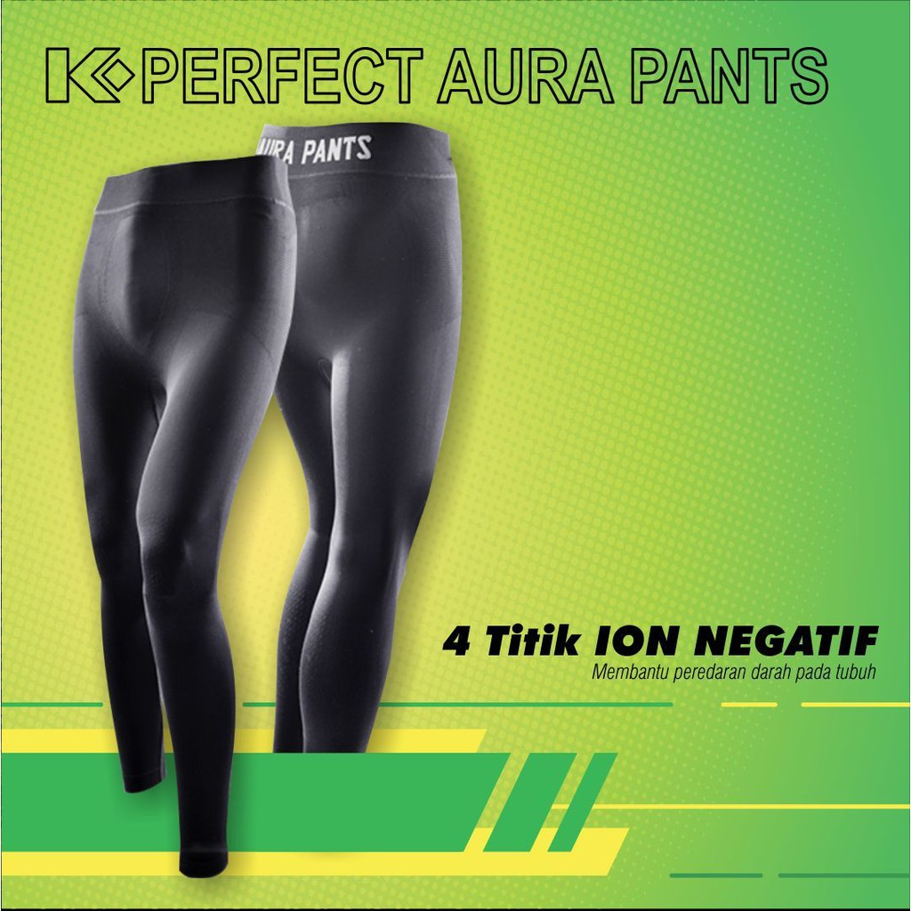Legging K Perfect Aura Pants Celana Inovatif Pembakar Lemak Shopee Indonesia