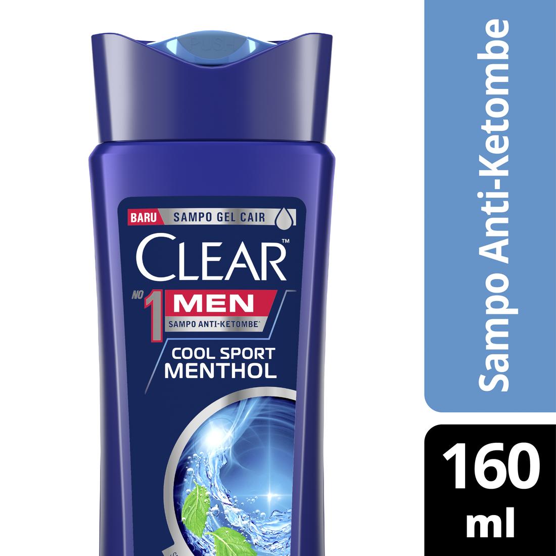 Buy Clear Shampoo Ice Cool Menthol 660 Ml Free Clear Men Cool Sport Menthol 160ml-2